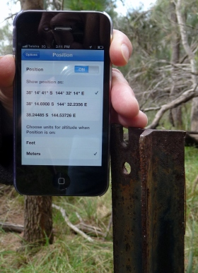 Pick your technology. The GPS is cool, but the picket will outlive it.