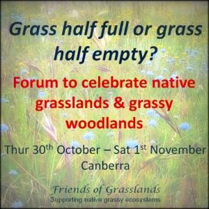 ACT grassland forum 2