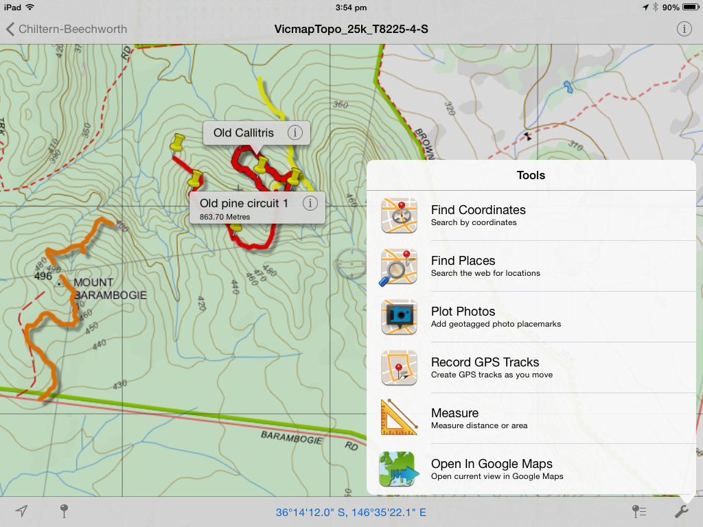 A great gps for your mobile phone ian lunt ecology pdf maps screenshot gumiabroncs Gallery