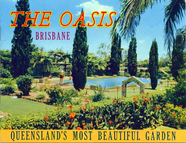 Garden plants vary from north to south. Evergreen trees dominate in Brisbane and Townsville.
