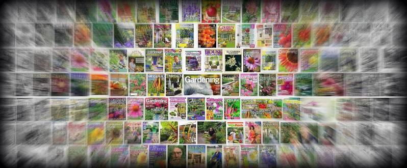 Garden magazines 2