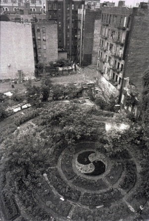 New plants in old spaces. Source:Guerrilla Gardening.