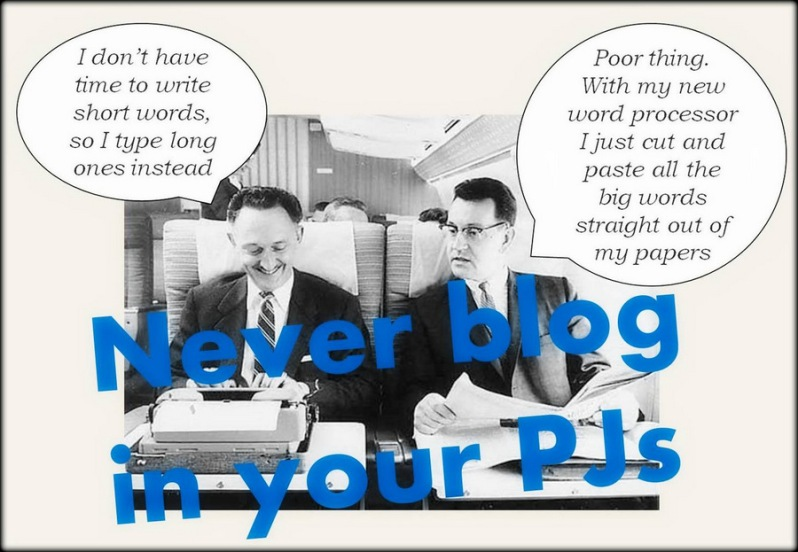 BlogInPJs