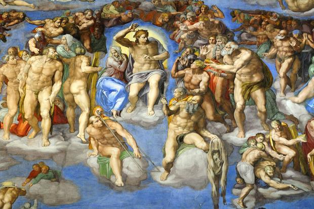 The amazing Sistine Chapel. Photo source: The Times.