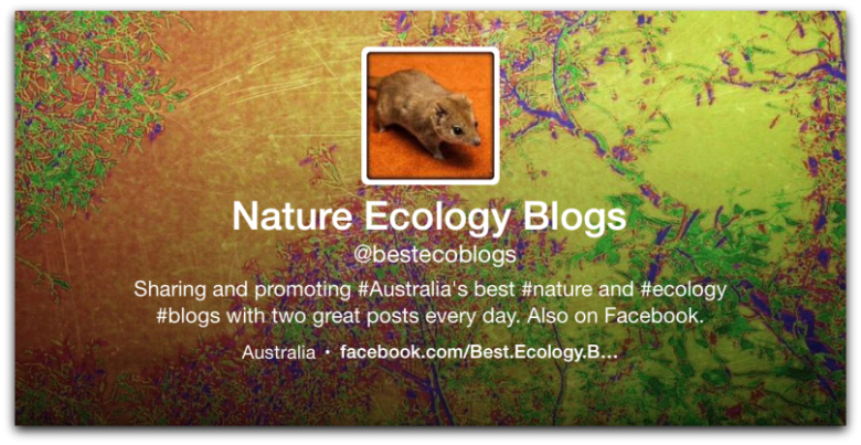 Best Ecology Blogs Header